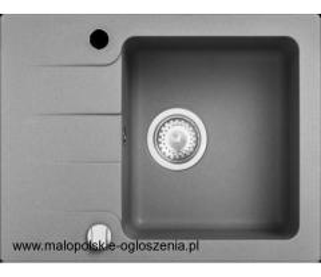 Zlewozmywak granitowy KGS C 4558 1B1D GREY METALLIC