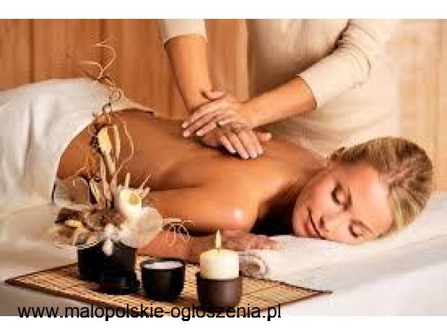 Masaż relaksacyjny i leczniczy całego ciała oraz częściowy. Specjalność Lomi Lomi